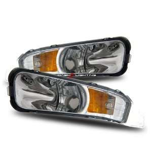 05 09 Ford Mustang Bumper Lights   Clear Automotive