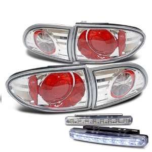 Eautolights 95 02 Chevy Cavalier 2/4 Dr Tail Lights + LED