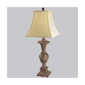 Crackle West Palm Tropical / Safari Table Lamp from the West Palm