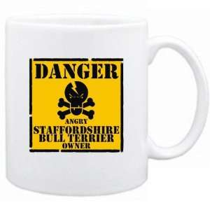 New  Danger  Angry Staffordshire Bull Terrier Owner