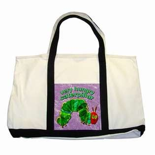 Two Tone Tote Bag of Very Hungry Caterpillar Baby Nursery  Carsons