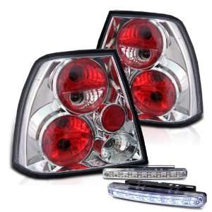 Eautolight 99 04 Volkswagen Jetta Tail Lights + LED Bumper