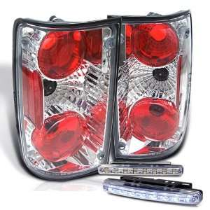 Eautolight 89 95 Toyota Pickup Pick up Tail Lights + LED