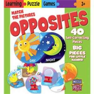 MasterPieces Opposites Puzzle Game (40pc) Toys & Games