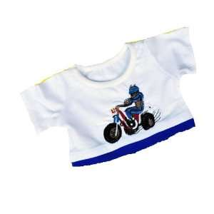 Cool Dirt Bike T Shirt Outfit Teddy Bear Clothes Fit 14   18 Build a