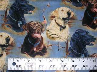 New Lab Labrador Retriever Dog Hunting Fabric Duck Chocolate Fat