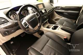 2012 chrysler town country limited 2012 limited black leather power