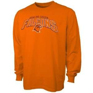 Bowling Green State Falcons Orange Big Time Long Sleeve T shirt
