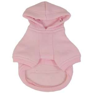 Platinum Pets Dog Sweatshirt Hoodie Dog Coat, Small, Pink