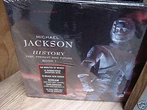 MICHAEL JACKSON HISTORY/PAST/FUTURE SEALED BOX + 6 LPS