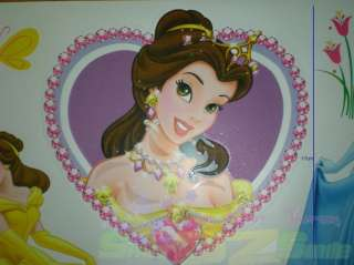 DISNEY PRINCESS ♥ Removable WALL STICKERS DECALS