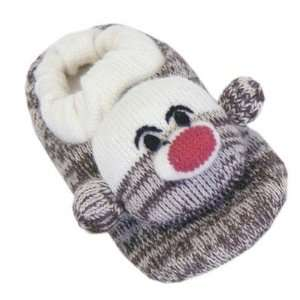 Soft Ones 0015655200 Adult Sock Monkey Slipper Baby