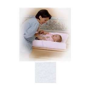 Simmons White Knit Contoured Changing Pad Cover   2 PACK  Toys