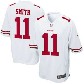 Mens Nike San Francisco 49ers Alex Smith Game White Jersey