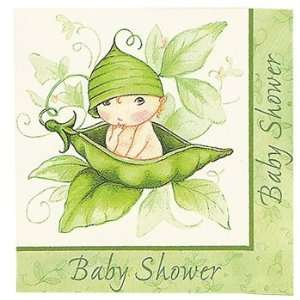 Sweet Pea Baby Shower Lunch Napkins Toys & Games