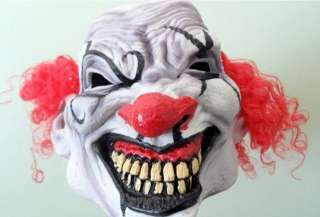 description these crazy scary clown masks will keep you awake at night