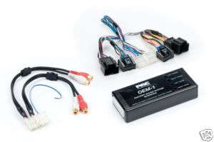 PAC AOEM GM1416A GM ADD AN AMPLIFIER ADAPTER HHR G5 VUE
