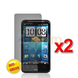 2X Anti Glare Matte LCD Screen Protector Cover for HTC Inspire 4G
