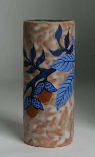 French Art Deco Pottery Vase by Louis Dage/ Circa 1925 ~ Paris, France