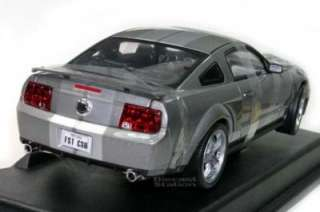 ERTL 2006 FORD SHELBY CS6 MUSTANG DIE CAST 1/18 GREY