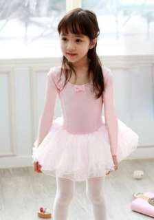 NEW Girl BirthdayParty Leotard Ballet Tutu Costume Dance Skirt Dress 2