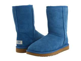 NIB UGG CLASSIC SHORT WOMENS BOOTS SHOES TURKISH TILE BLUE SZ 5 6 7 8