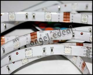 3M RGB Flash 5050 SMD LED Strip Light + Remote Power