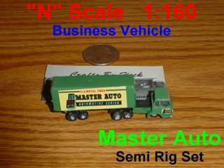 Scale Business Master Auto Semi Truck