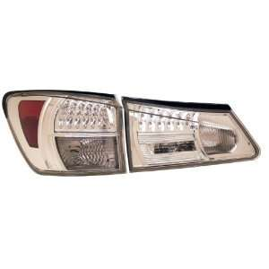 Anzo USA 321153 Lexus Chrome LED Tail Light Assembly   (Sold in Pairs)