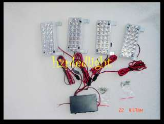 4x22 LED FLASHING AMBER LIGHT RECOVERY SECURITY TRAFFIC