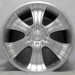 20 JEEP GRAND CHEROKEE SRT8 06 ACE SILVER ALLOY WHEELS 5x127