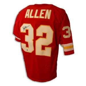 Marcus Allen Autographed/Hand Signed Red Jersey