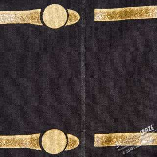 Black Michael Jackson Military Costume Jacket   Michael Jackson