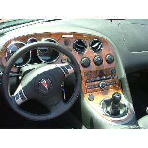 PONTIAC SOLSTICE INTERIOR WOOD DASH TRIM KIT SET 2006 2007