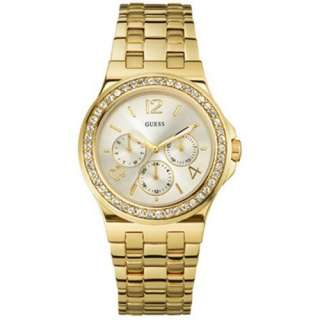 Guess Mens W18538L1 Gold Stainless Steel Quartz Watch
