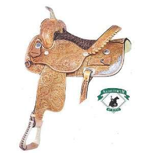 Tub Turner Pro Racer Barrel Racing Saddle