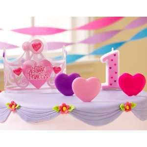 Princess 1st Birthday Cake Topper Party Supplies  Toys & Games