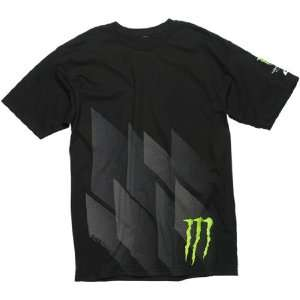 Monster Angles Mens Short Sleeve Casual T Shirt/Tee   Black   Size