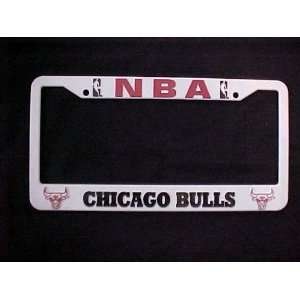 Chicago Bulls Basketball Official NBA License Plate Frame [Misc