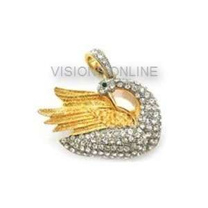 Visions Jewelry USB Flash Drive 4gb Pendant Swan, Free