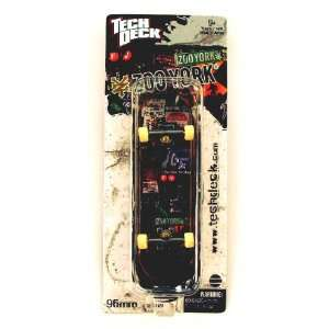 Tech Deck Holiday Exclusive Single Board ZOO YORK Street Signs  Toys