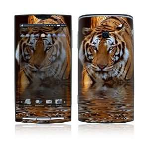 Sony Xperia X10 Skin Decal Sticker   Fearless Tiger