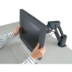 Kensington Flat Panel Monitor Arm. FLAT PANEL DESK/MOUNT ARM DESIGNED