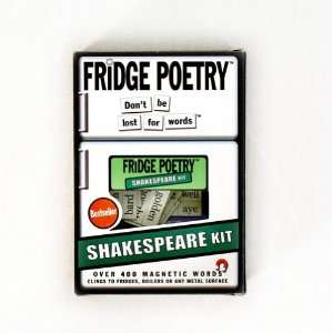 SHAKESPEARE FRIDGE MAGNET SET