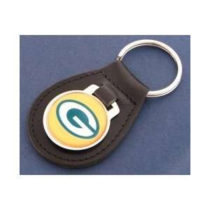 Green Bay Packers Leather Key Chain