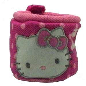 Hello Kitty Sanrio Cup Holder Pocket   Polka Dots