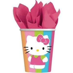 Hello Kitty Paper Cups 8ct Toys & Games