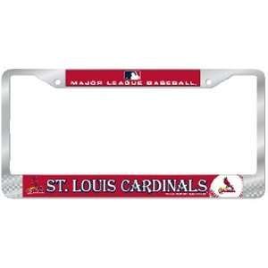 Saint Louis Cardinals MLB Chrome License Plate Frame