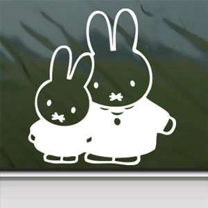 Miffy Rabbit White Sticker Sanrio Car Vinyl Window Laptop