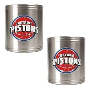 Detroit Pistons NBA 2pc Stainless Steel Can Holder Set